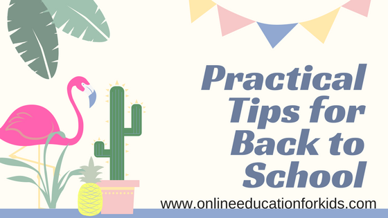 Practical Tips for Back to School
